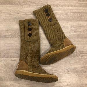 UGG Shoes - UGG Cardi Boots Size 9